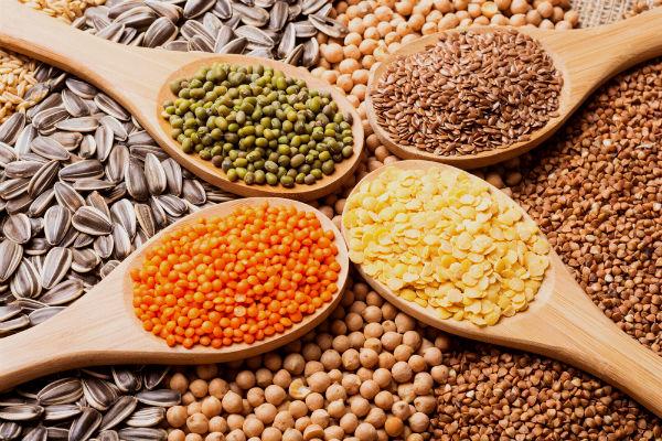 อาหารชะลอวัย -ธัญพืช ถั่ว ๆ