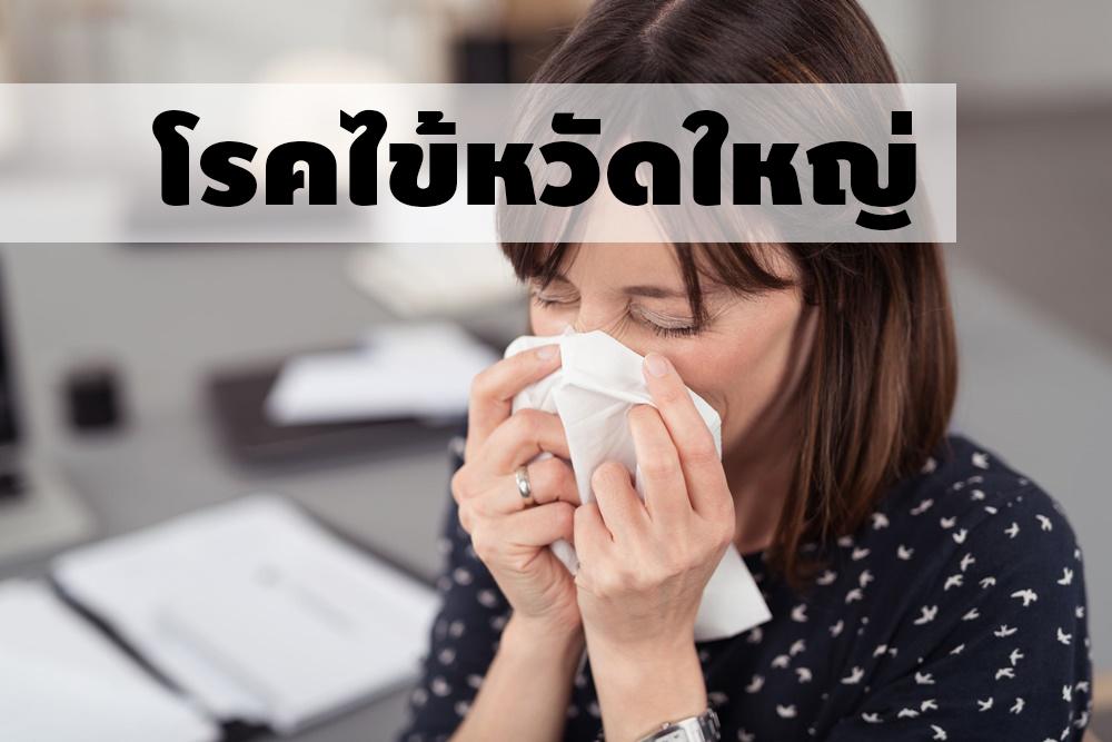 โรคเป็นไข้หวัดใหญ่