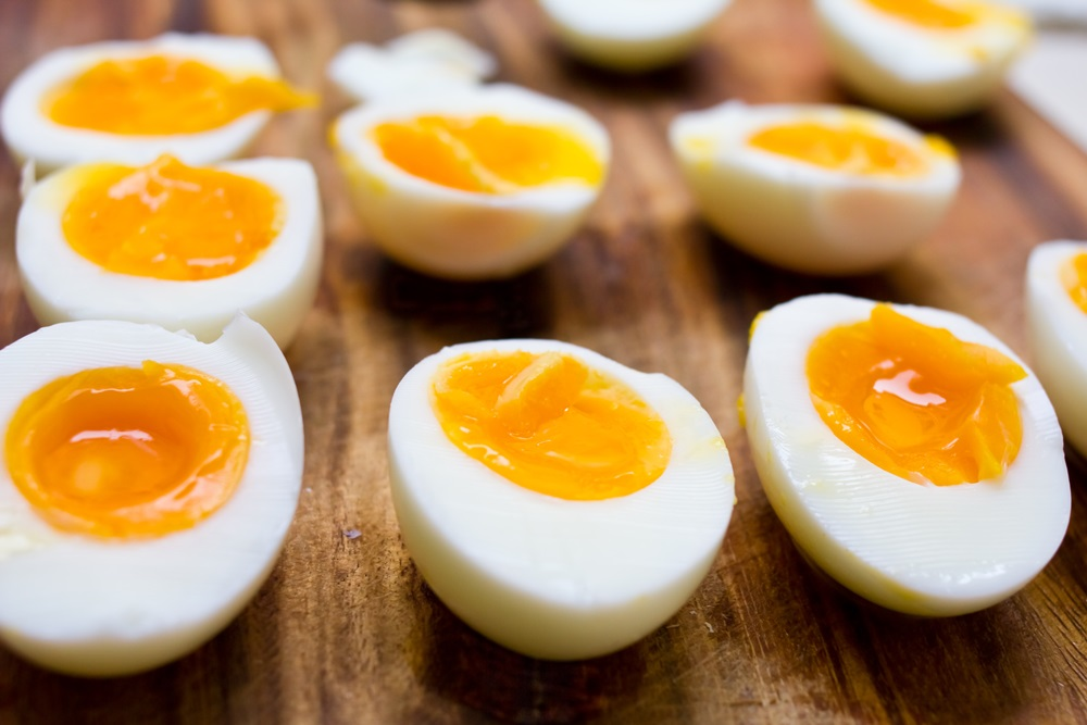 ประโยชน์ของไข่ต้ม