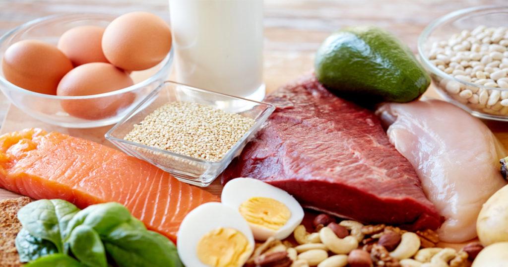 5 อาหารโปรตีนสูง