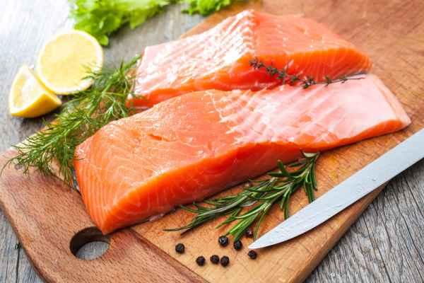 อาหารเพื่อสุขภาพ-ปลาแซลมอน