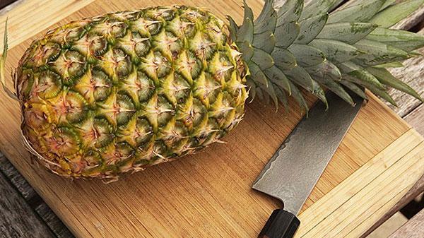 ผิวพรรณความสวยด้วยสับปะรด-มาร์คหน้า