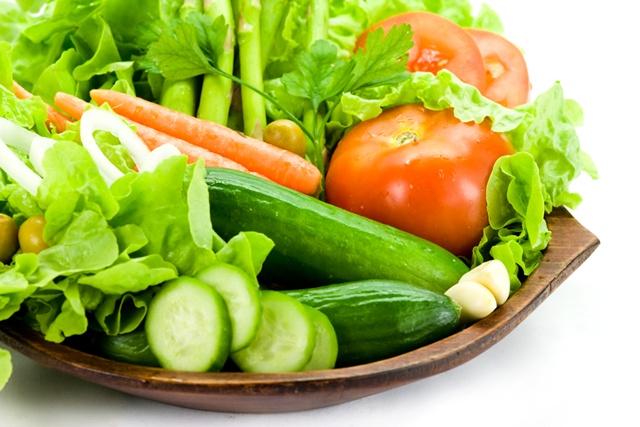 สุขภาพดี-ทานผักใบเขียว
