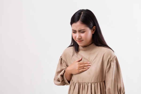 หายใจไม่อิ่ม หายใจไม่เต็มปอด (Shortness of Breath)