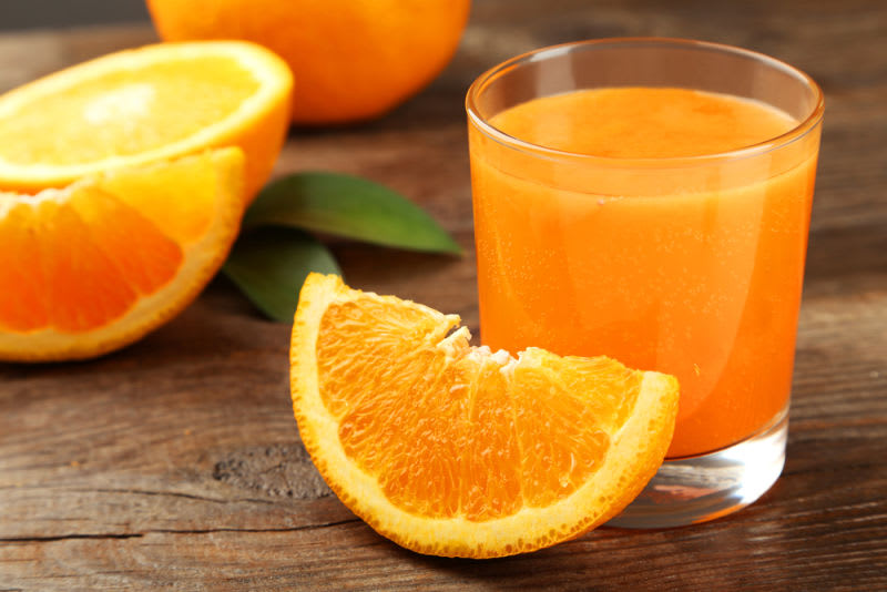 ส้ม คือ ผลไม้ที่ทราบดีว่ามีวิตามินซี