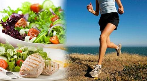 การออกกำลังกาย ควบคุมอาหาร